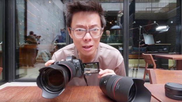 Kaiman Wong with Canon EOS R