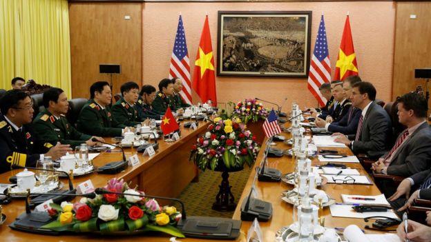 Cuộc họp giữa hai phía tại Hà Nội ngày 20/11/2019