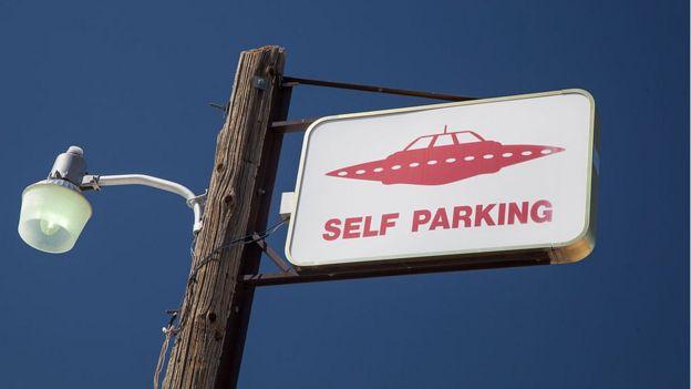 Rachel, un pequeño pueblo cercano al Área 51, está lleno de referencias a la vida extraterrestre.