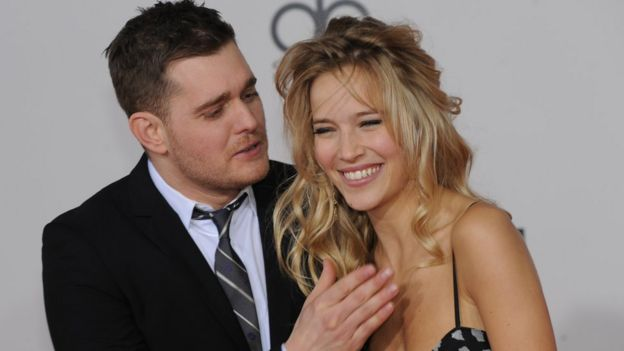 michael buble to make stage return after son s illness bbc news