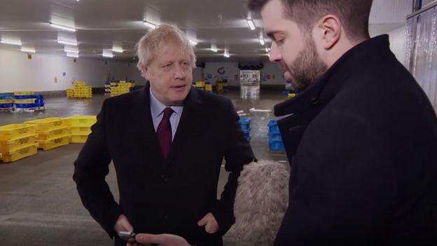 ITV reporter confronts Boris Johnson