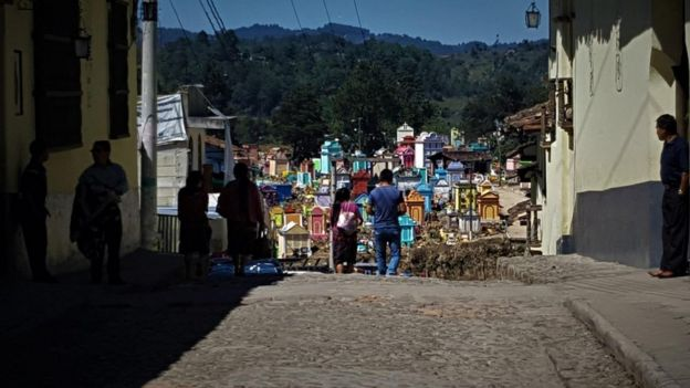 8.ª calle de Chichicastenango