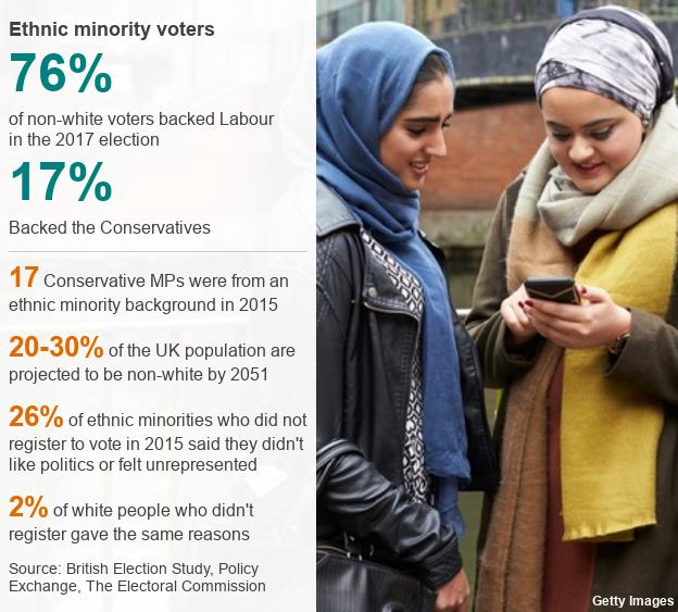 Ethnic minority voters datapic