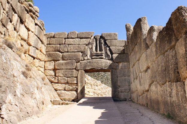 Lion's Gate Mycenae