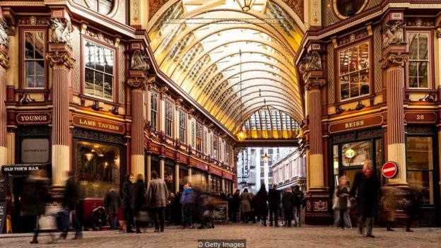 London's Leadenhall Market has long been a stronghold for those who prefer to network over drinks