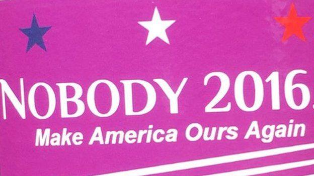 Nobody 2016 sticker