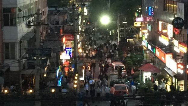 The last night of a bustling Beijing bar strip before demolition teams moved in