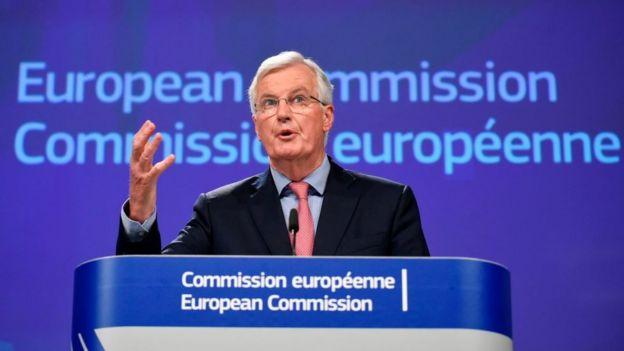 Michel Barnier, jefe negociador de la UE para el Brexit.