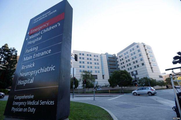Kanye alilazwa hospitali ya UCLA jimbo la Los Angels