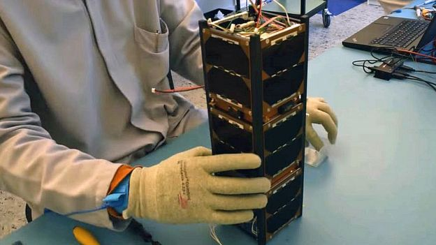 El cuerpo central de un nanosatélite de Sky and Space Global