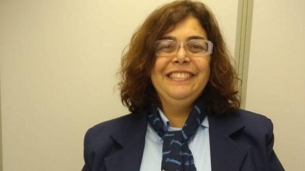 La jueza Adriana Leandro trabajó como operadora telefónica durante un día.