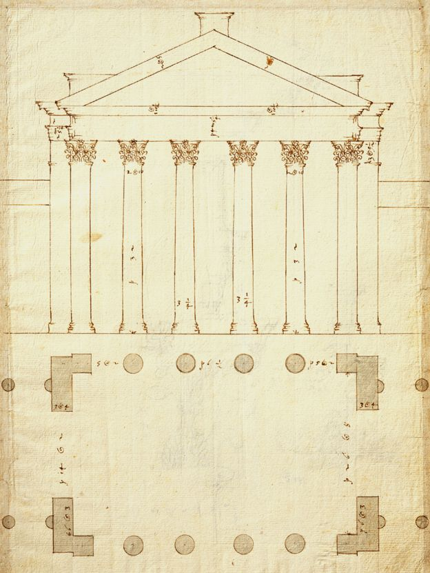 Palladio The Architect Who Inspired Our Love Of Columns Bbc News