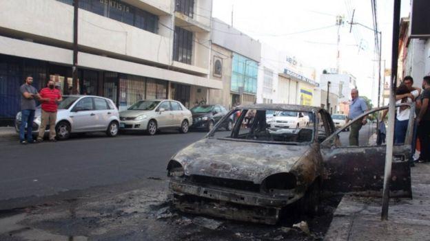 Disturbios en Celaya el pasado fin de semana