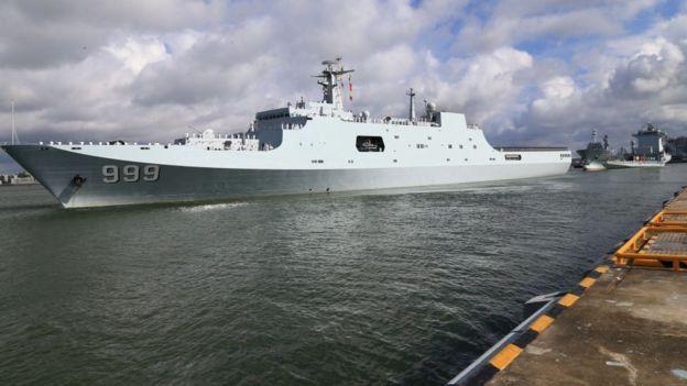 چین از جمله کشورهایی است که در جیبوتی پایگاه نظامی دارد