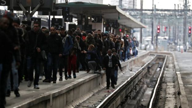 France Strike Rail Misery As Three Month Action Tests