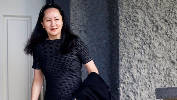 از زمان بازداشت، خانم وانژو در حصر خانگی در ونکوور کانادا به سر میبرد