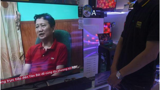 Ông Trịnh Xuân Thanh xuất hiện 'xin lỗi' trên chương trình thời sự của VTV