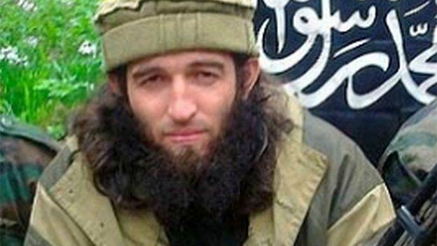 The new leader of IS's Caucasus branch who's known as Rustam Aselderov aka Abu Mukhammad Kadarsky)