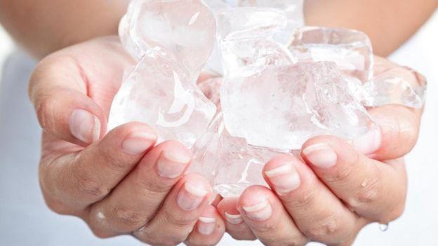Image result for calor y hielo