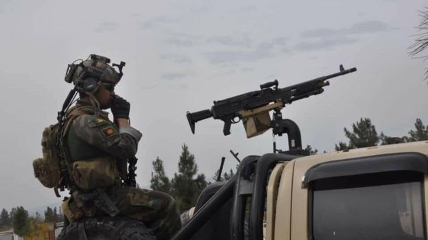 وزارت دفاع افغانستان نیز اعلام کرده که حمله طالبان به ولسوالی علی شینگ لغمان را دفع کرده است