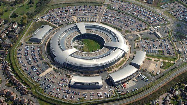 GCHQ in Cheltenham