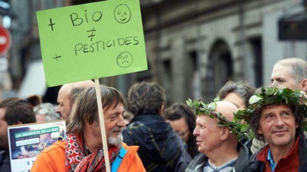 Manifestación en Europa