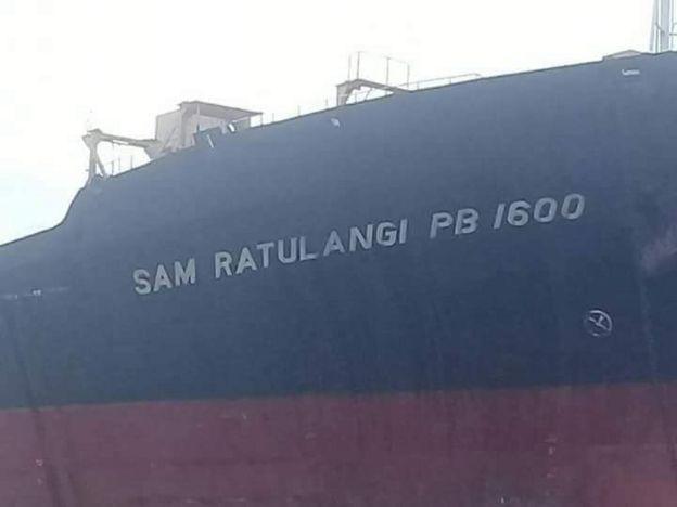 Di Indonesia, nama pahlawan biasanya hanya dijadikan nama kapal milik Angkatan laut, bukan untuk kapal barang. Tapi kapal ini bernama Sam Ratulangi.