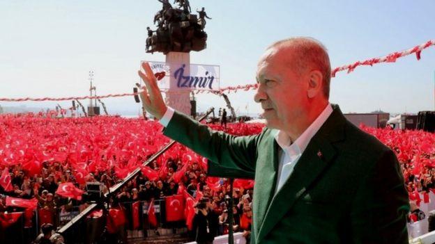 Эрдоган в Измире