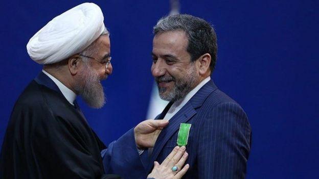 عباس از عراقچی از مذاکره کنندگان ارشد اتمی ایران در توافق برجام بود و از سوی رئیس جمهور ایران