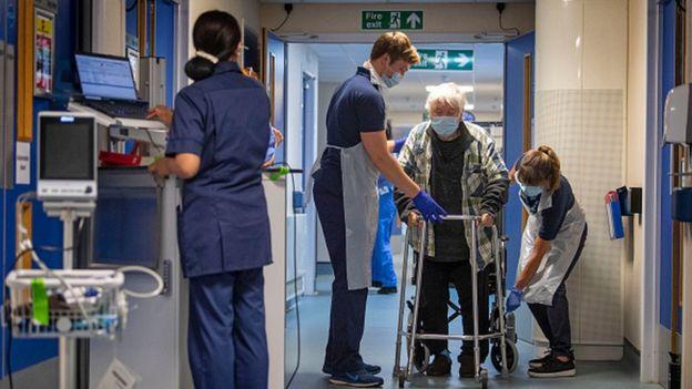В британской больнице