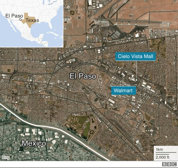 El Paso aho ubwicanyi bwabereye