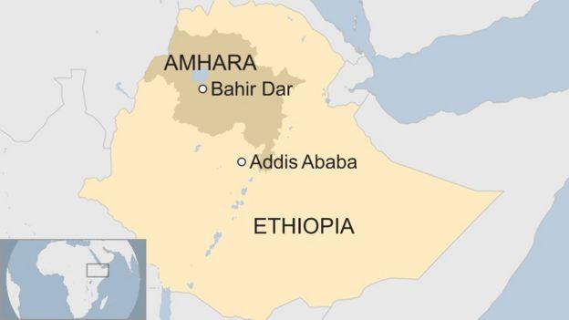 Ethiopia army chief shot dead in 'coup bid' attacks - BBC News