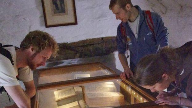 Bibles in Ty Mawr Wybrnant