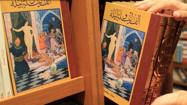 Bộ truyện Nghìn lẻ một đêm gồm các câu chuyện có nguồn gốc từ Ba Tư, Ấn Độ, Ả-rập, Hy Lạp, và các nguồn khác