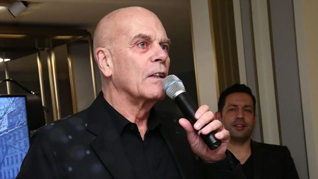 Петер Харф, портпарол породице Рајман