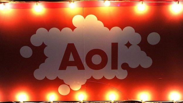 Logo da AOL