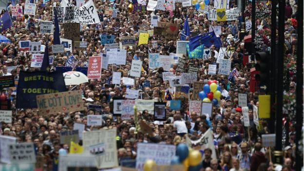pro-EU rally