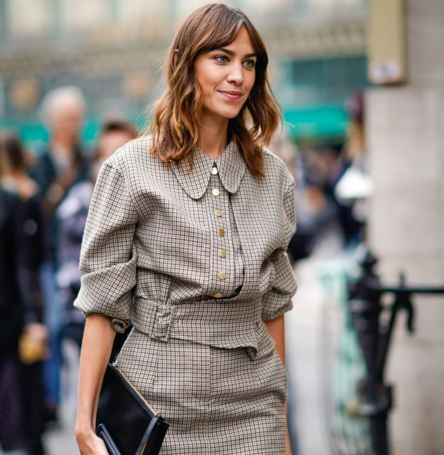 a446118dfa3 London Fashion Week  Why Alexa Chung has  imposter syndrome  - BBC News