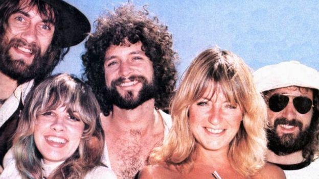 Mick Fleetwood, Stevie Nicks, Lindsey Buckingham, Christine McVie, John McVie