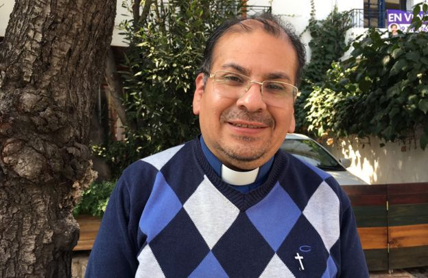 Padre Francisco Javier Ossa Figueroa, que prestou depoimento recentemente