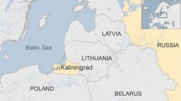 US Nato General Fears Rapid Russian Troop Deployments BBC News - Us troops near russia map