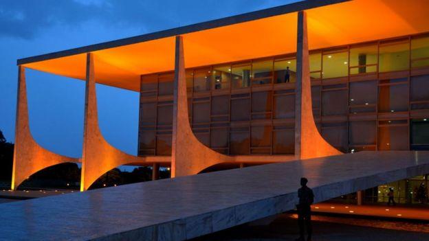 O Palácio do Planalto