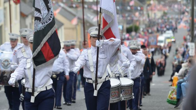 Parade in Rathfriland