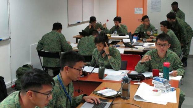 सिंगापुरका सुरक्षाकर्मी