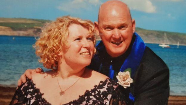 Denise and her husband David
