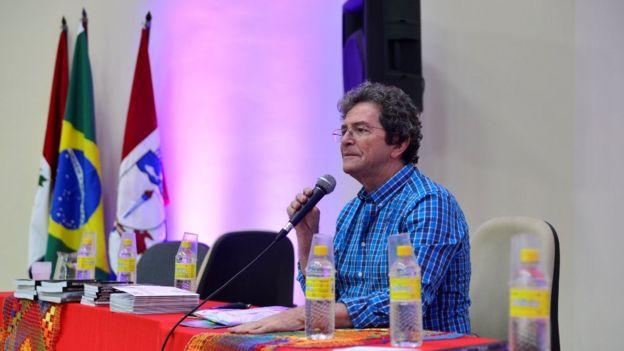 O presidente da SBPC Ildeu Moreira