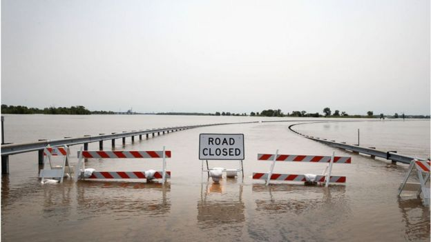 Large stretches of road across the Midwest remain closed due to flooding