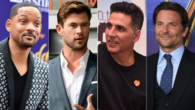 Will Smith, Chris Hemsworth, Akshay Kumar and Bradley Cooper