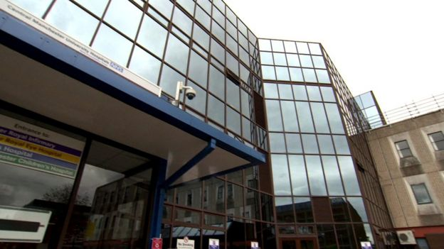 Manchester Royal Eye Hospital Patient Heard Other Patients
