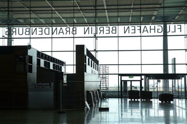 Terminal del aeropuerto BER.